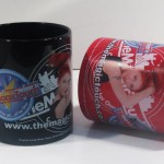 Gift print mugs are probably the original memorable giveaway!