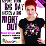 Hen party outfits range from printed T shirts or luxurious pampering.