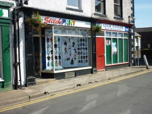 Stitch & Print's new premises after the floods: 51 High Street, Wigton, Cumbria CA7 9NJ