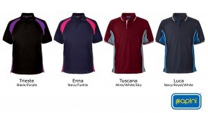 2014 Elite polo shirt from Papini with new colourways