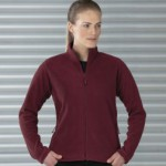 Russell Collection 8700F fleece. Stylish women's shape ideal for workwear and embroidery of branding