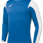 Joma football kit shirt, royal blue & white makes a great soccer shirt with team colours!