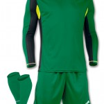 Joma Zamora football kit for the goalkeeper. Very tough green version