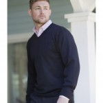 Russell 710M men's sweater in black