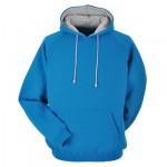 Cyan hoodie. Heavyweight high quality fabric: perfect starting point for custom leavers hoodies