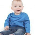 Toddler sweatshirt. Simple nursery school uniforms for kids!