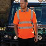 WR002 Warrior Daytona Hi Vis Polo Shirt
